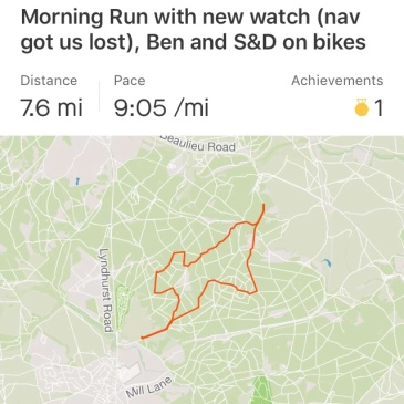 Brockenhurst run